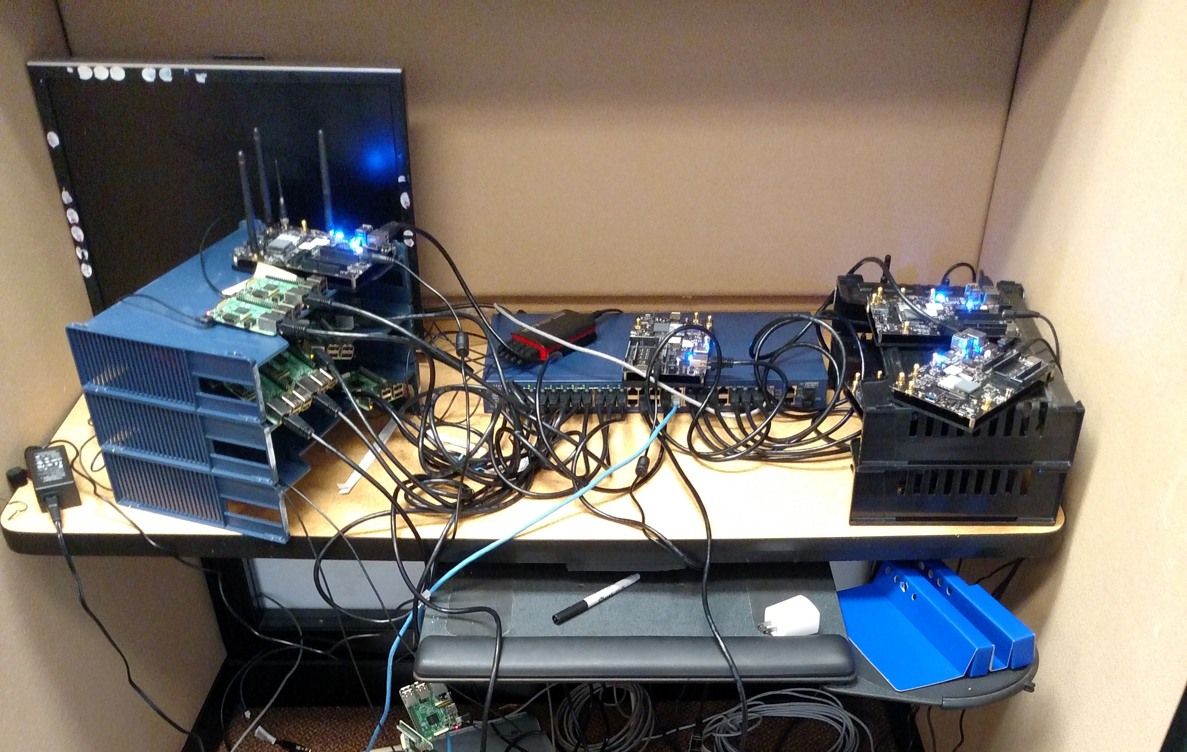 Cluster of Raspberry Pis